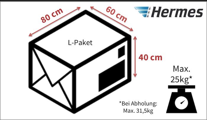 hermes paket beschädigt